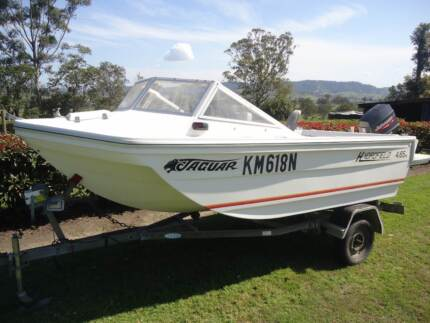 Hydrofield Jaguar 4.65m Dungog Dungog Area Preview