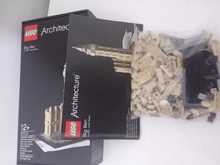 Lego 21013 Big Ben architecture