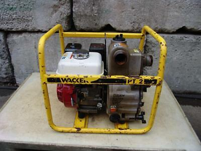 Wacker Pt-2 General Purpose 2 Water Trash Pump Centrifugal Gasoline