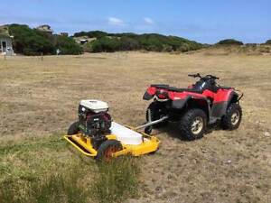 Tow Behind Slasher Mower Tow 'n' Mow made in Geelong Geelong Geelong City Preview
