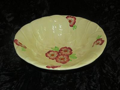 Vintage BURLINGTON WARE China Majolica Fruit Bowl John Shaw 1959-63