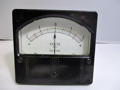 Weston 861 Chamber Voltage Panel Meter
