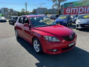 2005 Mazda 3 BK10F1 Maxx Red 4 Speed Sports Automatic Hatchback Lidcombe Auburn Area Preview