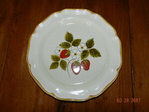 Vintage Mikasa Strawberry Festival Serving Platter - Never Used