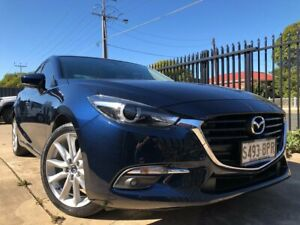 2017 Mazda 3 BN MY17 SP25 GT Blue 6 Speed Automatic Sedan Mile End West Torrens Area Preview