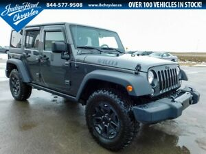2016 Jeep Wrangler Unlimited Willy's Wheeler 4x4 | Auto |