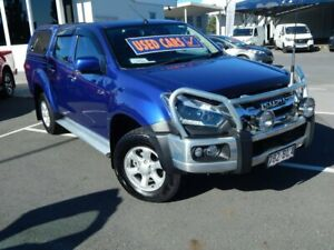 2018 Isuzu D-MAX MY18 LS-M Crew Cab Blue 6 Speed Sports Automatic Utility North Lakes Pine Rivers Area Preview