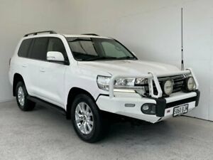 2016 Toyota Landcruiser VDJ200R VX White 6 Speed Sports Automatic Wagon Mount Gambier Grant Area Preview