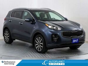 2017 Kia Sportage EX AWD, Back Up Cam, Heated Seats, Bluetooth!