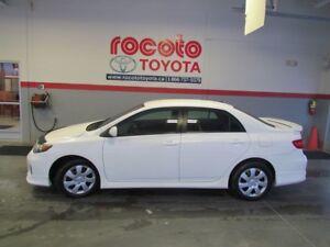 2011 Toyota Corolla * S * AIR CLIMATISÉE * GR ÉLECTRIQUES *