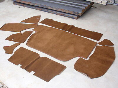 Triumph STAG  Boot Carpet Kit including all Backing Boards  Brown in colour