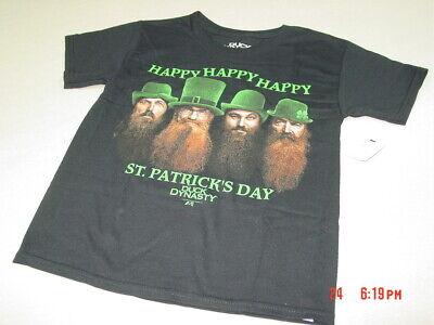 NWT Boys Duck Dynasty Irish St. Patrick's Day Patty's Happy Happy Happy Uncle - Uncle Si Happy Happy Happy
