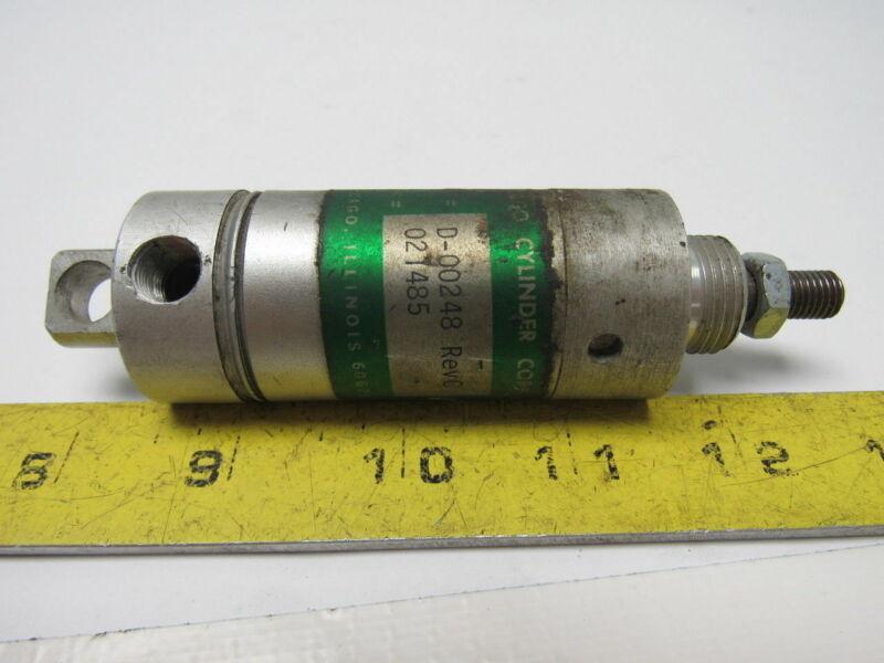 Chicago Cylinder D-00248 REV. C Pneumatic Cylinder