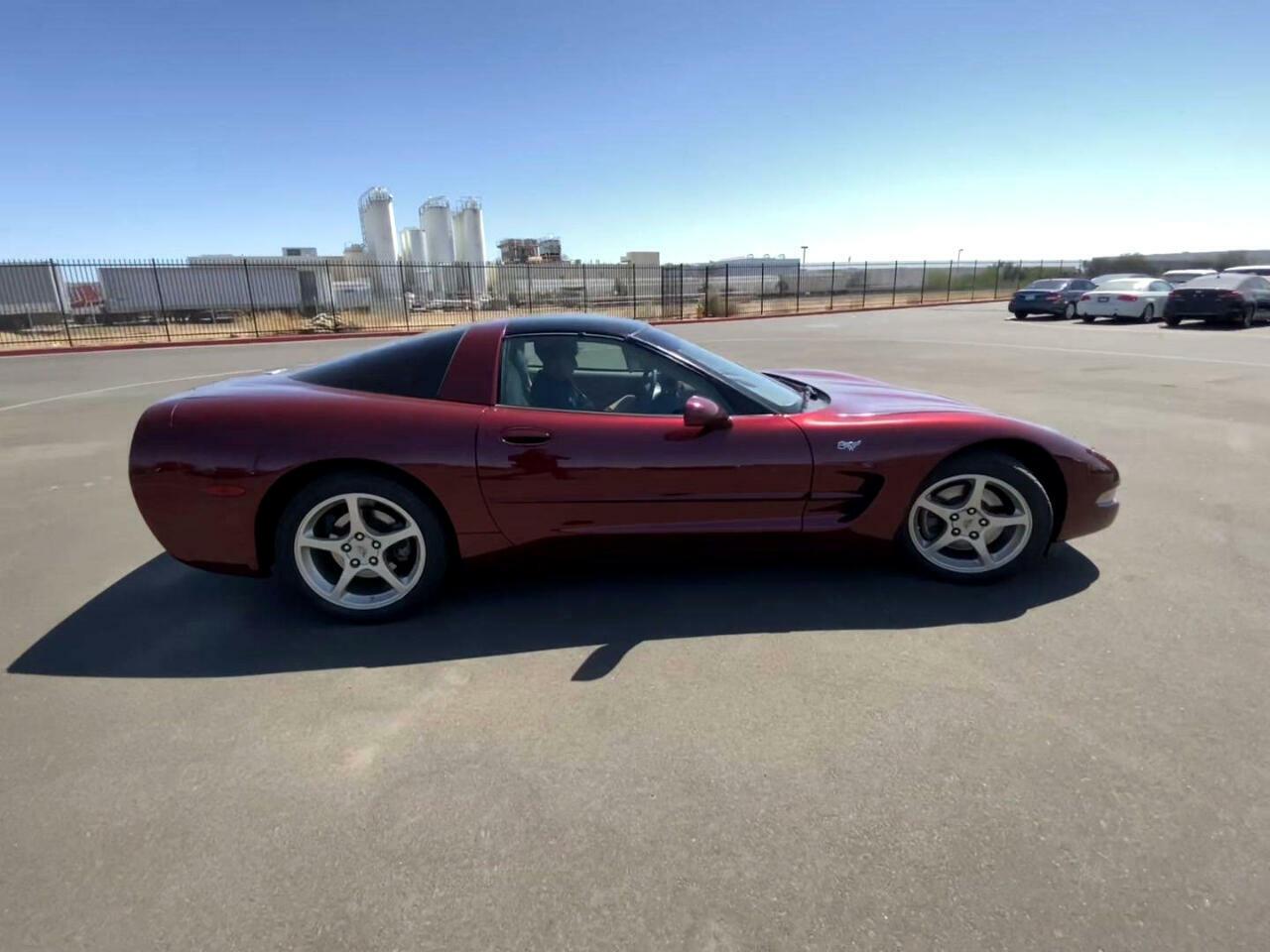 2003 Burgundy Chevrolet Corvette     C5 Corvette Photo 1