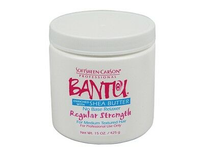 Soft Sheen Carson Bantu No Base Regular Strength Relaxer with Shea Butter  15oz