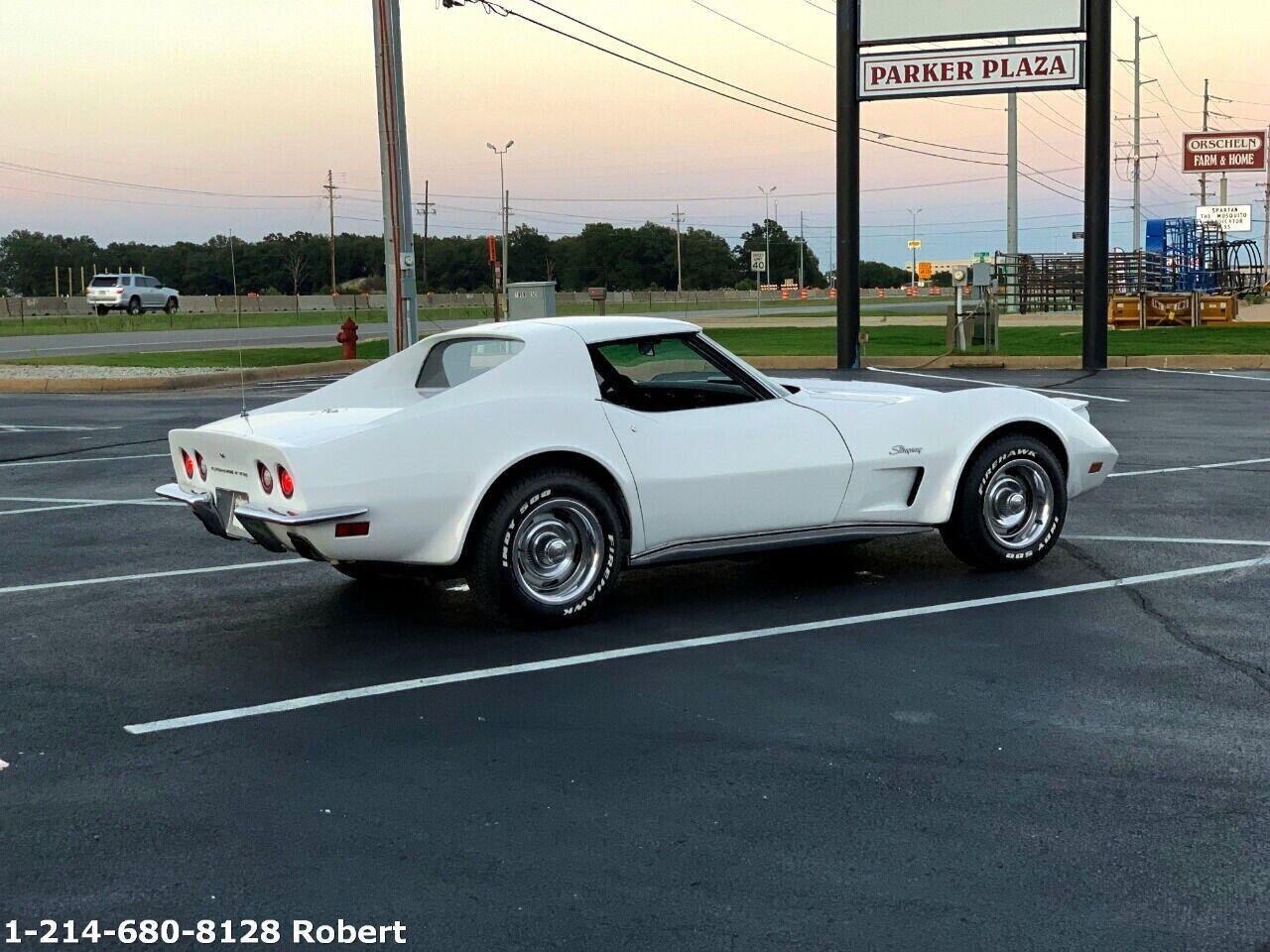 1973 White Chevrolet Corvette   | C3 Corvette Photo 2