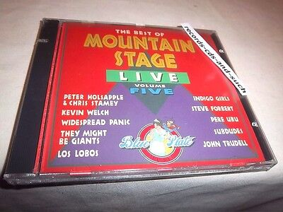 Best of Mountain Stage Live V5-WIDESPREAD PANIC/THEY MIGHT BE GIANTS/PERE UBU