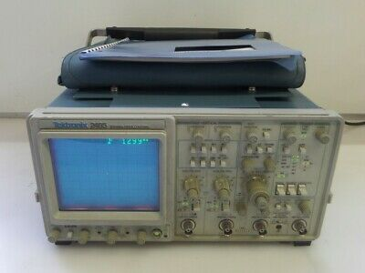 Tektronix 2465 300mhz 4-channel Oscilloscope As Is