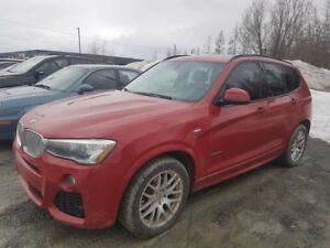 2015 BMW X3 XDrive28i M SPORT PACKAGE + TOIT PANORAMIQUE