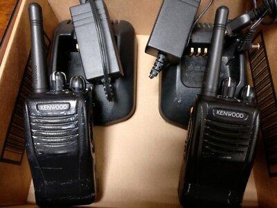 Kenwood Tk-3360 Uhf Two Way Radios Pair Used