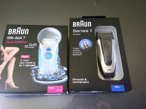 Braun epilator and shaver Carrum Downs Frankston Area Preview