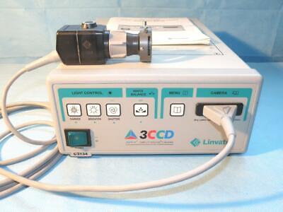 Linvatec 3-chip Endoscopy Camera With Camera Head Coupler
