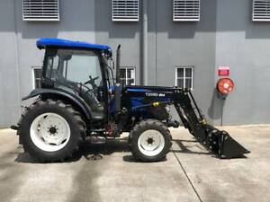 Lovol 80hp 4WD A/C 804 Cab Tractor with 4 in 1 Loader Molendinar Gold Coast City Preview