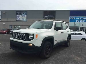 2015 Jeep Renegade SPORT  AWD  **SKY ROOF+CAMERA DE RECUL**