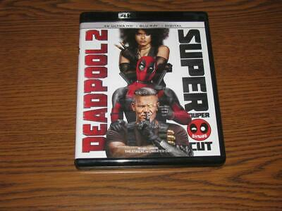 Deadpool 2 (4K Ultra HD/Blu-Ray, 2018, 4-Disc Set)