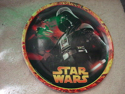 STAR WARS DARTH VADER CHILD'S PLATE by ZAK DESIGNS 8 INCH FREE USA SHIPPING
