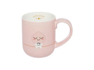 Kakao Friends Apeach Character Ceramic Mug Cup 460ml
