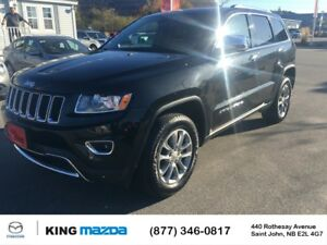 2016 Jeep Grand Cherokee Limited AWD..$232 B/W..LEATHER..HEATED