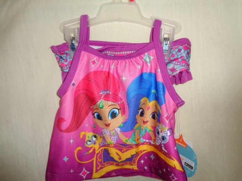 SHIMMER SHINE TWO PIECE SWIM SUIT TODDLER SIZE 2T NEW WITH TAGS