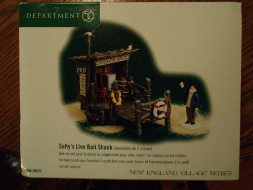 DEPT 56  NEW ENGLAND VILLAGE Accessory SALTY