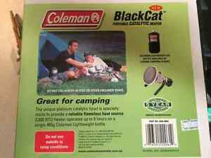 COLEMAN BLACKCAT PORTABLE CATALYTIC HEATER, NEVER USED, CAMPING, Castle Hill The Hills District Preview