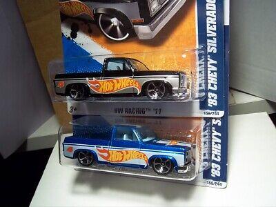 """Hot Wheels '83 Chevy Silverado """"Black exclusive"""" plus extra"""