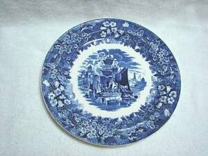 Antique flow blue Wedgwood Ferrara dinner plate  25.5 cm Kingswood Penrith Area Preview