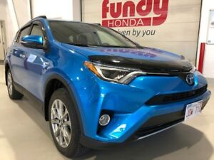 2017 Toyota RAV4 Hybrid Limited w/360 camera, $290.56 B/W MINT,
