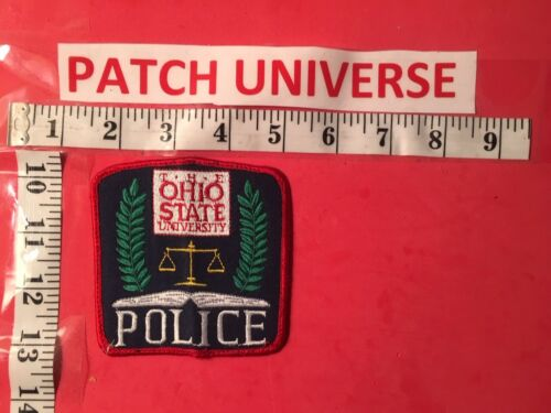 THE OHIO STATE UNIVERSITY  POLICE  SHOULDER PATCH  S099