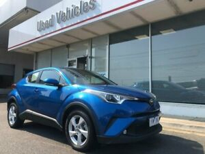 2017 Toyota C-HR NGX10R S-CVT 2WD Blue 7 Speed Constant Variable Wagon
