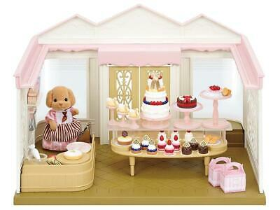 Calico Critters Village Cake Shop Playset Veronica Toy Poodle In Speacial Outfit](Toy Poodle Outfits)