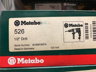 Metabo 12 Drill 526
