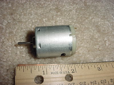 Small Dc Electric Motor 9 - 30 Vdc 4930 Rpm 44 G-cm M24