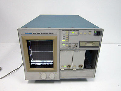 Tektronix Dsa601a Digitizing Signal Analyzer 2x 11a71 Amplifier