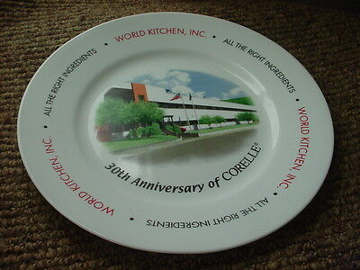 CORELLE WORLD KITCHEN 30th ANNIVERSARY LIMITED EDITION DINNER PLATE FREE