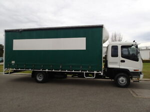 Isuzu 10 Pallet Tautliner Automatic Welshpool Canning Area Preview