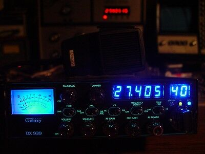 GALAXY DX 939 CB RADIO,DUAL MOSFETS,HIGH RECEIVE KIT,HIGH OUTPUT LEVELS!!!