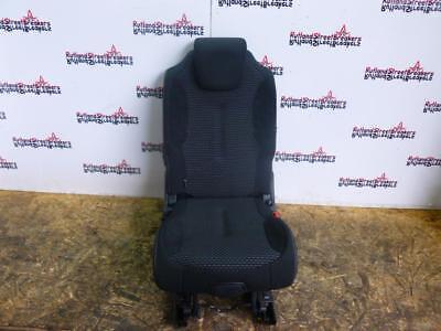 CITROEN C4 GRAND PICASSO 2ND  ROW CENTRE  REAR SEAT BLACK GREY CLOTH
