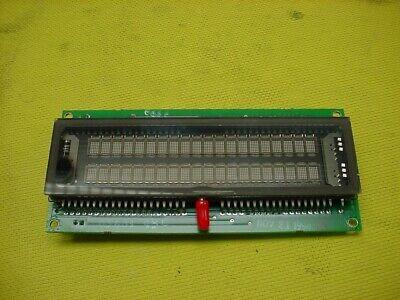 IEE 05464-35397-01 ALPHANUMERIC VACUUM FLOURESCENT DISPLAY CARD ASSY35398