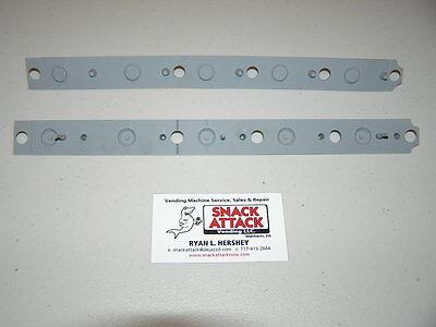 Dixie Narco 276e501e 600e Soda Vending Machine 2 Selection Key Pad Strips